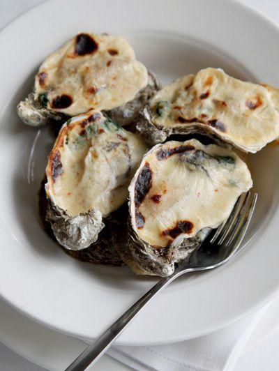 Gegratineerde oesters  | ELLE Eten NL