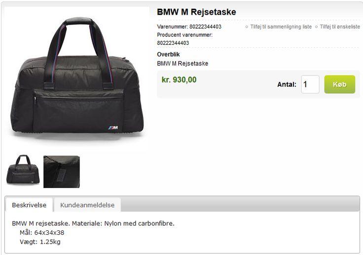 BMW Weekend - Bag