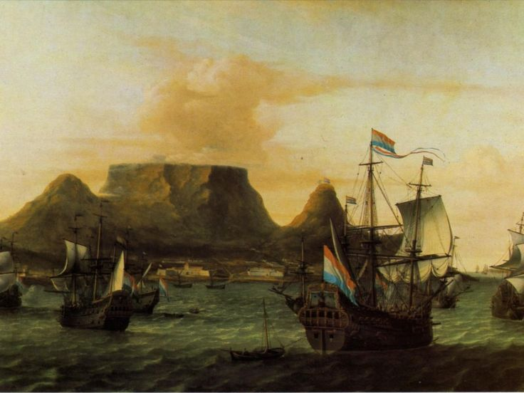 Dutch ships sailing into Table Bay by Aernout Smidt, 1683   A port city, slavery, passion, alcohol and poison – it sounds like a concoction worthy of Shakespeare or Marquez, but each of these elements played a role in the real-life entanglements between Dutch masters of the Cape and their captive mistresses. Molo took a look at some of the Company's most iconic tales of love, sex, intrigue and despair. ..