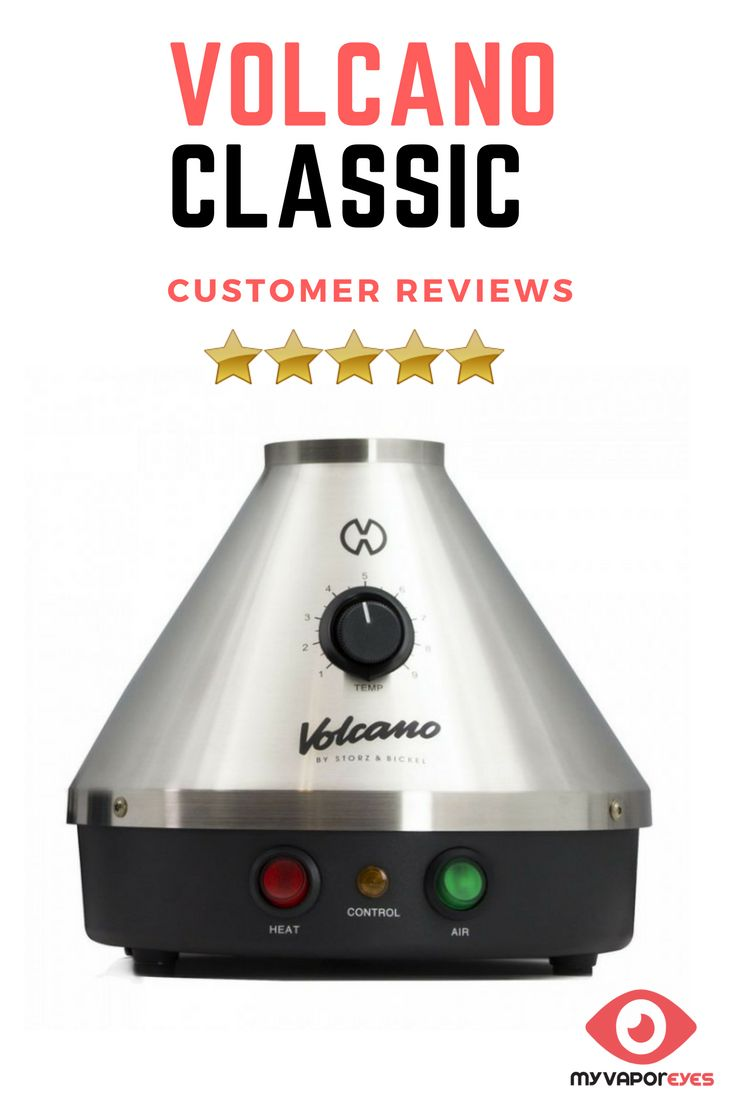 """Vaporizer Reviews-Volcano Classic Vaporizer Review. Read user reviews, find the best deal, product information, pros and cons on the Volcano Classic Vaporizer. A short history: German-based manufacturer Storz & Bickel developed the very first """"forced-air"""" vaporizer back in the early 2000's with the iconic Volcano Classic Vaporizer, which has been turning heads and blowing minds ever since."""