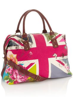 union jack: Weekend Bags, Travel Bags, Style, Unionjack, Jack O'Connell, Cute Bags, Union Jack, Wedding Bags, Jack Weekend