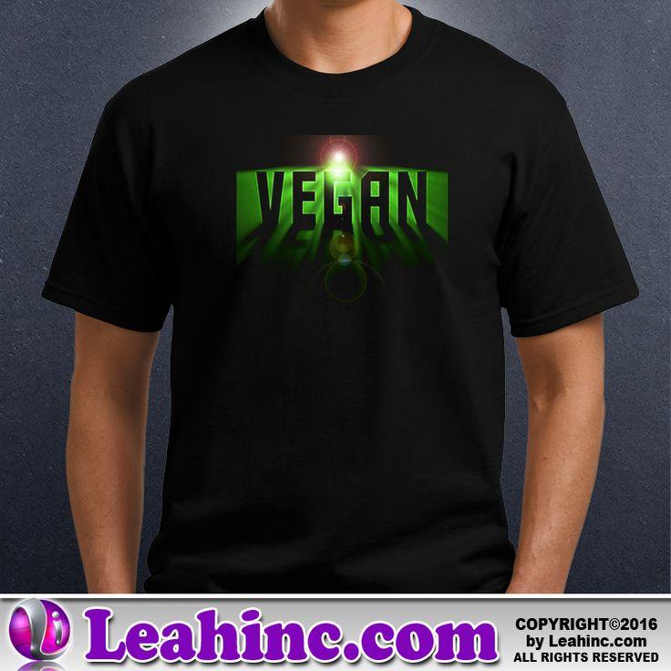 Vegan, Vegetarian, Causes, Men's, Ladies, Shirts, Space Vegan