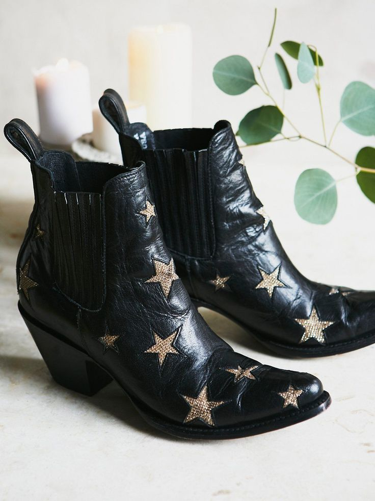 Mexicana Black Reach For The Stars Ankle Boot at Free People Clothing Boutique