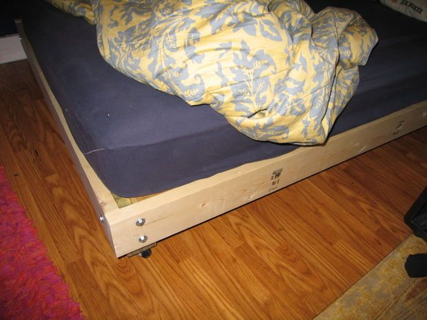 How Big To Make Plywood For Queen Platform Bed
