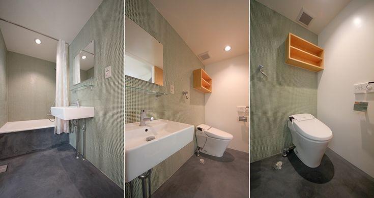 【3月26日退去予定、事前申込受付中!】    閑静な住宅街に建つ、無垢の床材を使用した優しさと温もりのあるメゾネット物件のご紹介です。玄関を開けると小ぶりですが土間が設けてあり、趣味の作業をするには嬉しいスペースです。居室の床は無垢材を使用したナチュラルテイストのお部屋です。    下階の5帖にダイニングテーブルとイスを配置する事で、上階の6.7帖の洋室をフルに活用でき、ベッドを置いても二人掛けのソファーが配置出来ると思います。水廻りは、グリル付2口ガスコンロでお料理が趣味の方には嬉しい設備。お風呂・トイレは同室ですが、壁には可愛らしいグリーンのタイルが貼られ、ゆとりも有り煩わしさは感じないと思います。また、独立洗面台もあります。    ちなみにバルコニーは無く浴室乾燥機もありませんので、洗濯物は室内干しになります。    *写真は前回募集時のお部屋のものです。    設計:ニコ設計室    (担当:うだがわ)