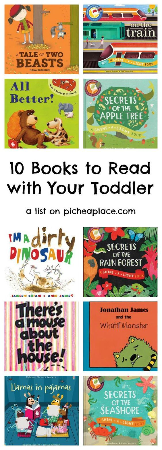 10 Books to Read with Your Toddler - grab a stack and read together!