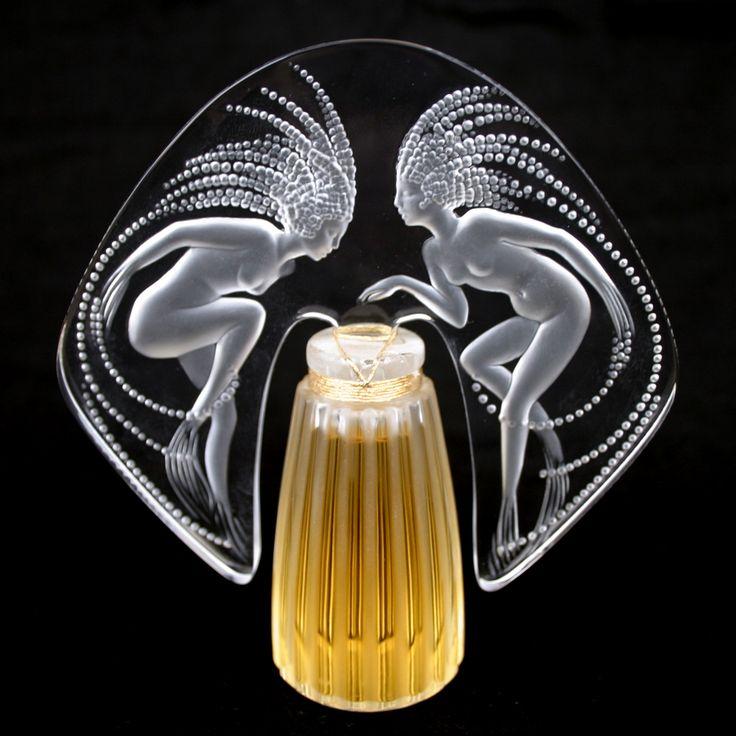 "Flacon de parfum ""Ondines"", de René Lalique"