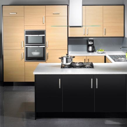 Kitchen-compare.com - John Lewis City Blonde Oak Effect.