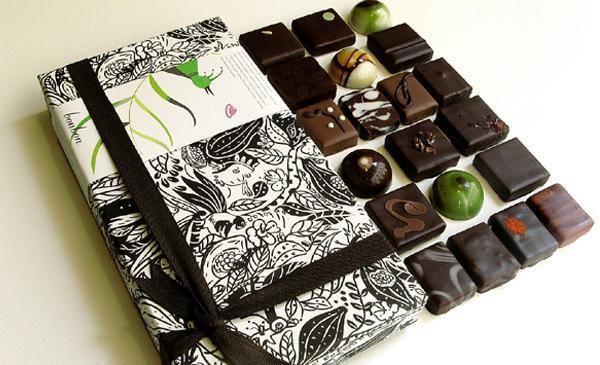 Bonbon assortment by Rózsavölgyi Csokoládé