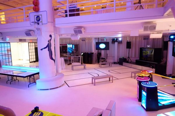 Basketball Bar Mitzvah With Games Sports Party Theme Nyc