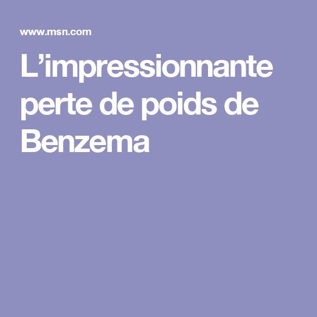 L'impressionnante perte de poids de Benzema