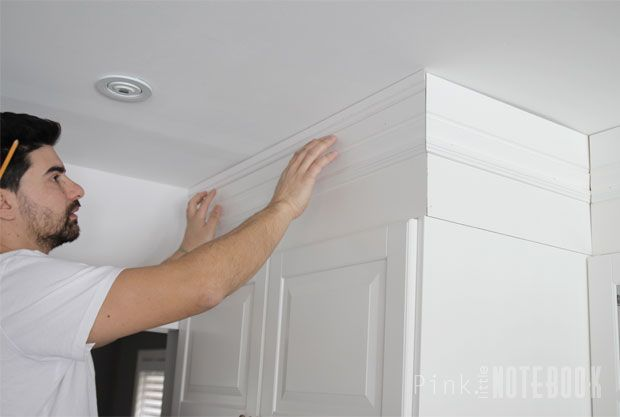 DIY: How to Disguise a Kitchen Soffit | Pink Little Notebook