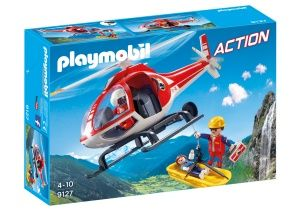 PLAYMOBIL Action: Helicopter Rescue Workers (9127)