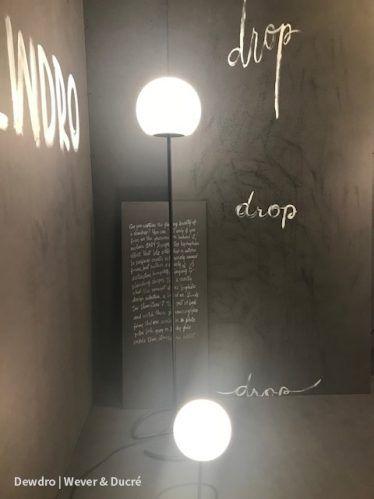 #dewdro #weverducre #lighting at #lightandbuilding2018 #new #products #belgium #design #light