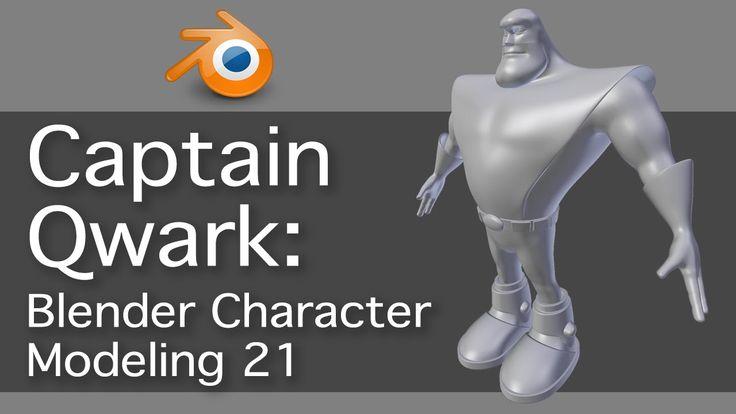 Blender Character Modeling Course : Best blender tutorials images on pinterest