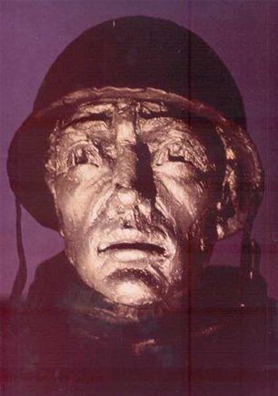 Korean War Veterans' Memorial, Washington DC - sculptures lit by Absolute Action's sustainable fibre optic lighting.