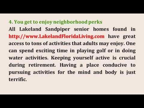 4 Reasons To Choose Buying A Lakeland Sandpiper Golf Home Over Renting