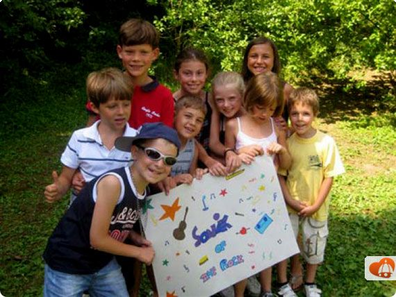 Children and parents all have fun in #Tuscany at special Summer Camps in Florence and in Maremma.