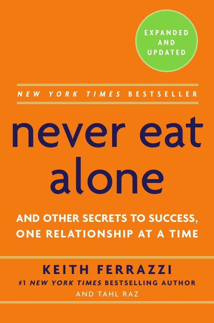 In Never Eat Alone, Ferrazzi lays out the specific steps—and inner mindset—he uses to reach out to connect with the thousands of colleagues, friends, and associates on his contacts list, people he has helped and who have helped him. And in the time since Never Eat Alone was published in 2005, the rise of social media and new, collaborative management styles have only made Ferrazzi's advice more essential for anyone hoping to get ahead in business.