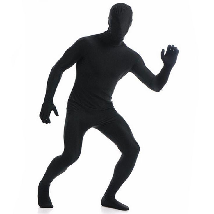 Ensnovo Mens Lycra Full Body Zentai Suit Custom Second Skin Tight Suits Spandex Nylon Bodysuit Halloween Costume For Men