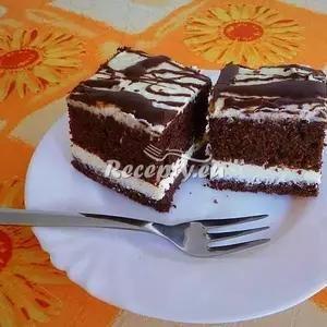 Vaření top receptu Kakaové eskymo řezy