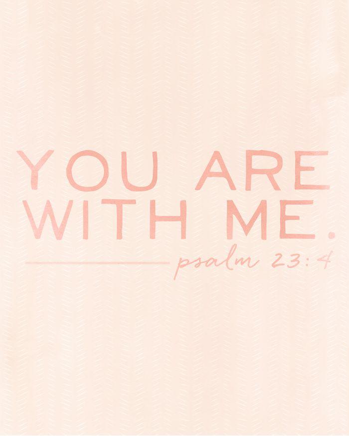 Psalm 23:4 //