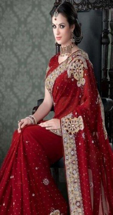 Indian Bridal Sarees Designer Wear