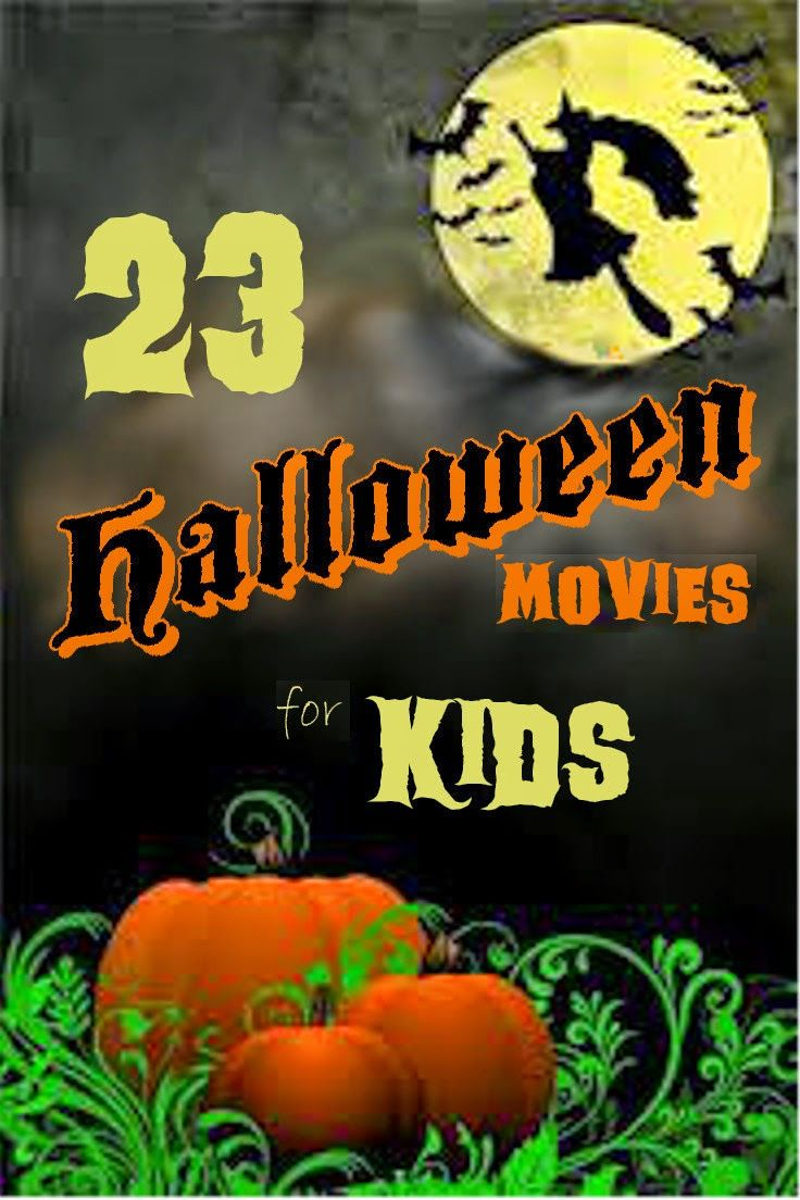 23 Halloween Movies for Kids (PG-rated) #halloween #movies