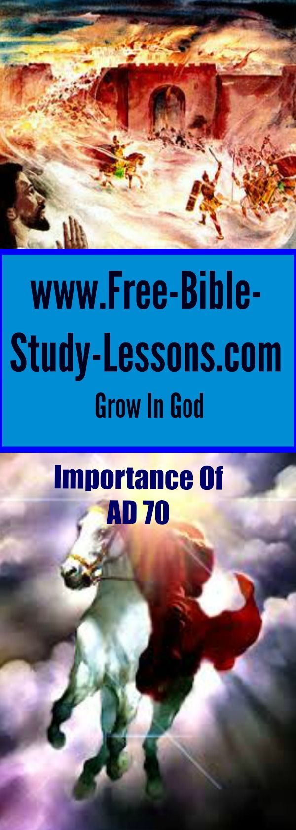 Understanding the importance of AD 70 sheds light on confusing Scriptures and gives a fuller understanding of the context in which the New Testament was written. #70AD #fallofJerusalem #bibleprophecy