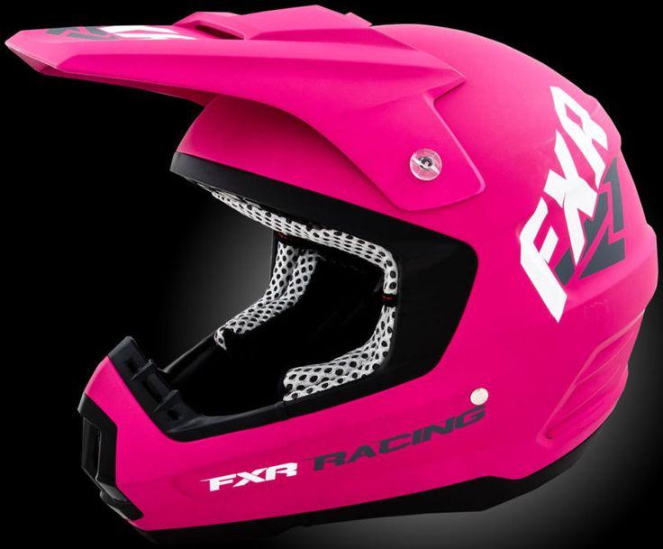 FXR 2015 helmet, I like the padding