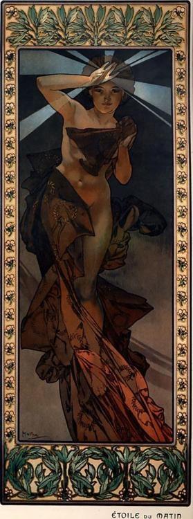 Morning Star  Artist: Alphonse Muncha
