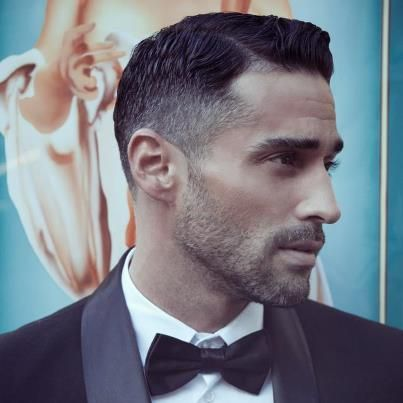 Sharp Cut / how a man should cut his hair / well, one way he could
