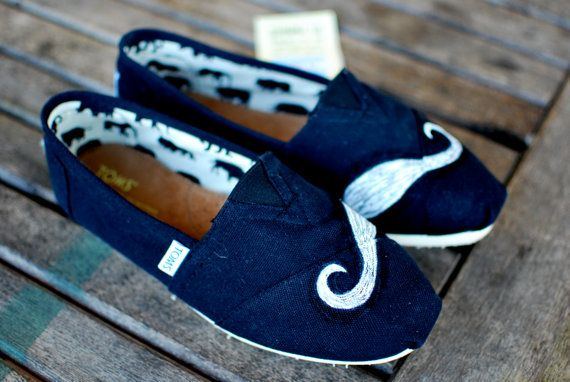 Moustache TOMS, no thank you, not at $79!