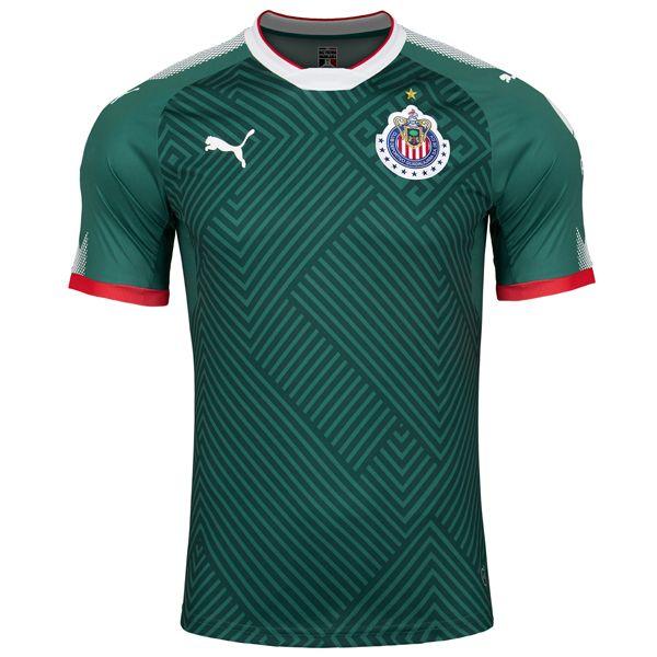 PUMA Men's Chivas 17/18 Third Jersey Green