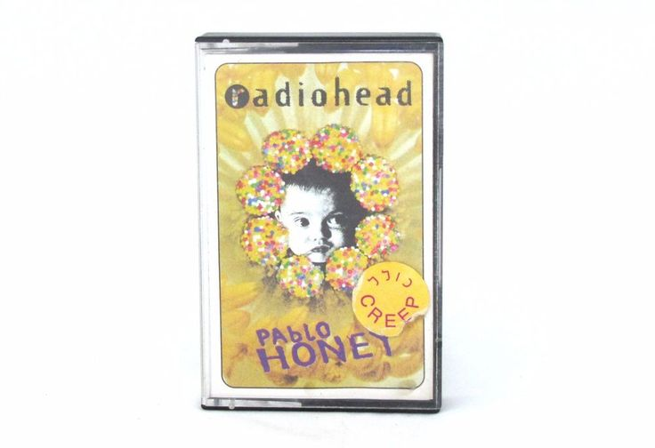 Radiohead Pablo Honey Cassette Vintage Rock Music Collectibles Great Condition #Britpop