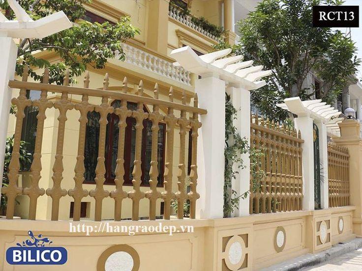 Hàng rào bê tông Bilico