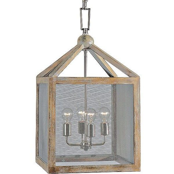 "Uttermost Nashua 16"" Wide Wooden 4-Light Pendant ($394) ❤ liked on Polyvore featuring home, lighting, ceiling lights, brown, chandeliers, uttermost lamps, wood lighting, wooden lighting, wood chandelier lighting and wood shades"