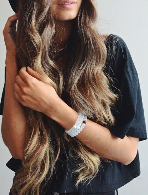 Gorgeous healthy waves just in time for summer.