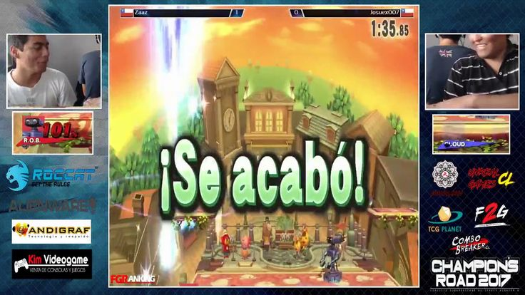 Champion´s Road 2017 IQUIQUE Super Smash Bros Wii U Finals