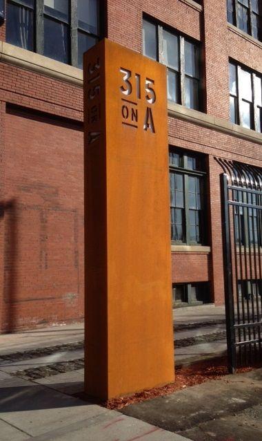 #letter #letters #typography #signage #metal #fabrication #design #sign #brand #branding #exterior #custom #dclbuilt #pylon #steel
