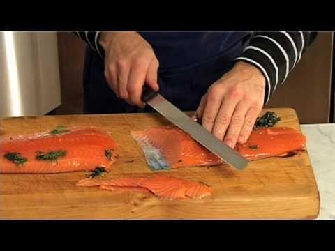 Film som viser hvordan du lager gravlaks
