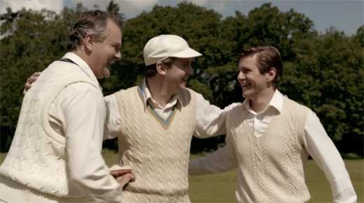 Nothing beats Cricket for male bonding on Downton Abbey Season 3 Episode 8