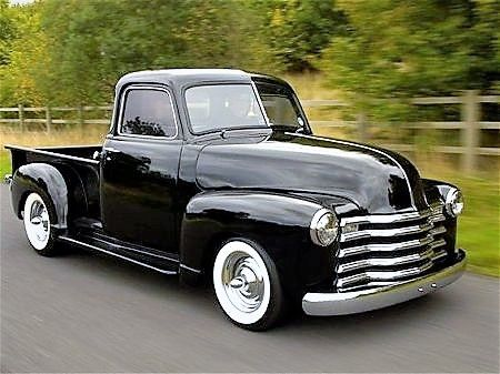1951 Chevy, wish it were not lowered