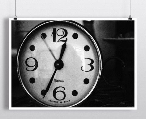 Retro Clock – Such A Poster