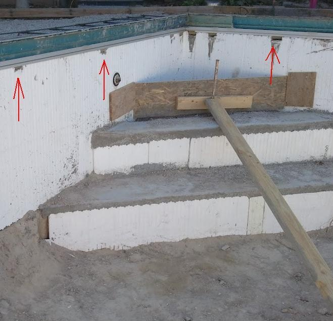 1000 images about swimming pool on pinterest for Icf pool construction