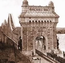 Old CERNAVODA-Carol bridge/Romania
