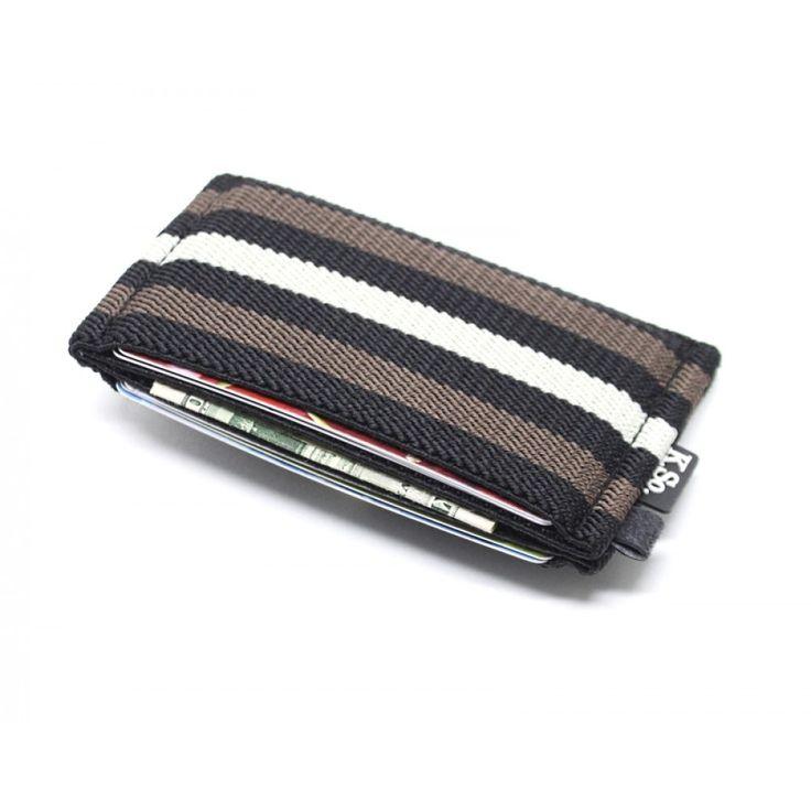Slim Minimalist Wallet & Card Holder 'Slimz Lines'