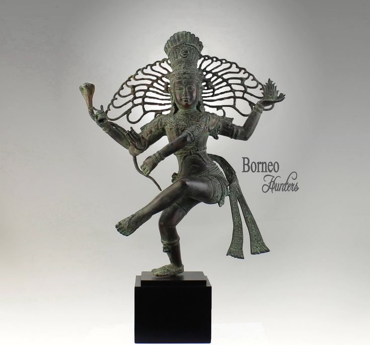 """Shiva Nataraja 19.7"""" (50cm) Lord Of Dance Destroyer Of Ignorance In The World; New Life & Renewal Bronze Shiva Hindu Diety Statue by BorneoHunters on Etsy"""