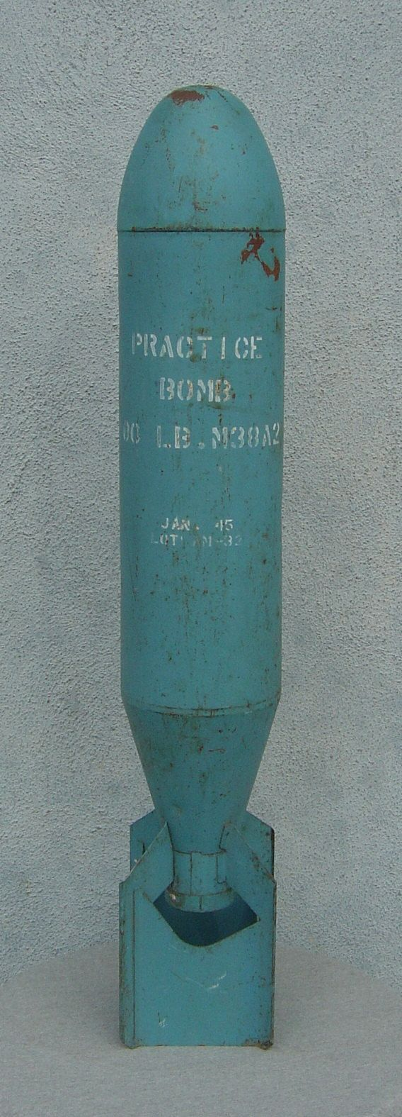Original 1945 Ww2 100 Pound M38a2 Inert Practice Dummy