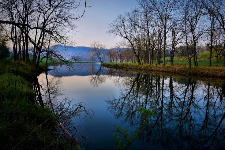 """Cowpasture River"" (Bath County) by Doug Puffenbarger, featured in the Richmond Times-Dispatch on March 3, 2018. #scenicvirginia #virginia"